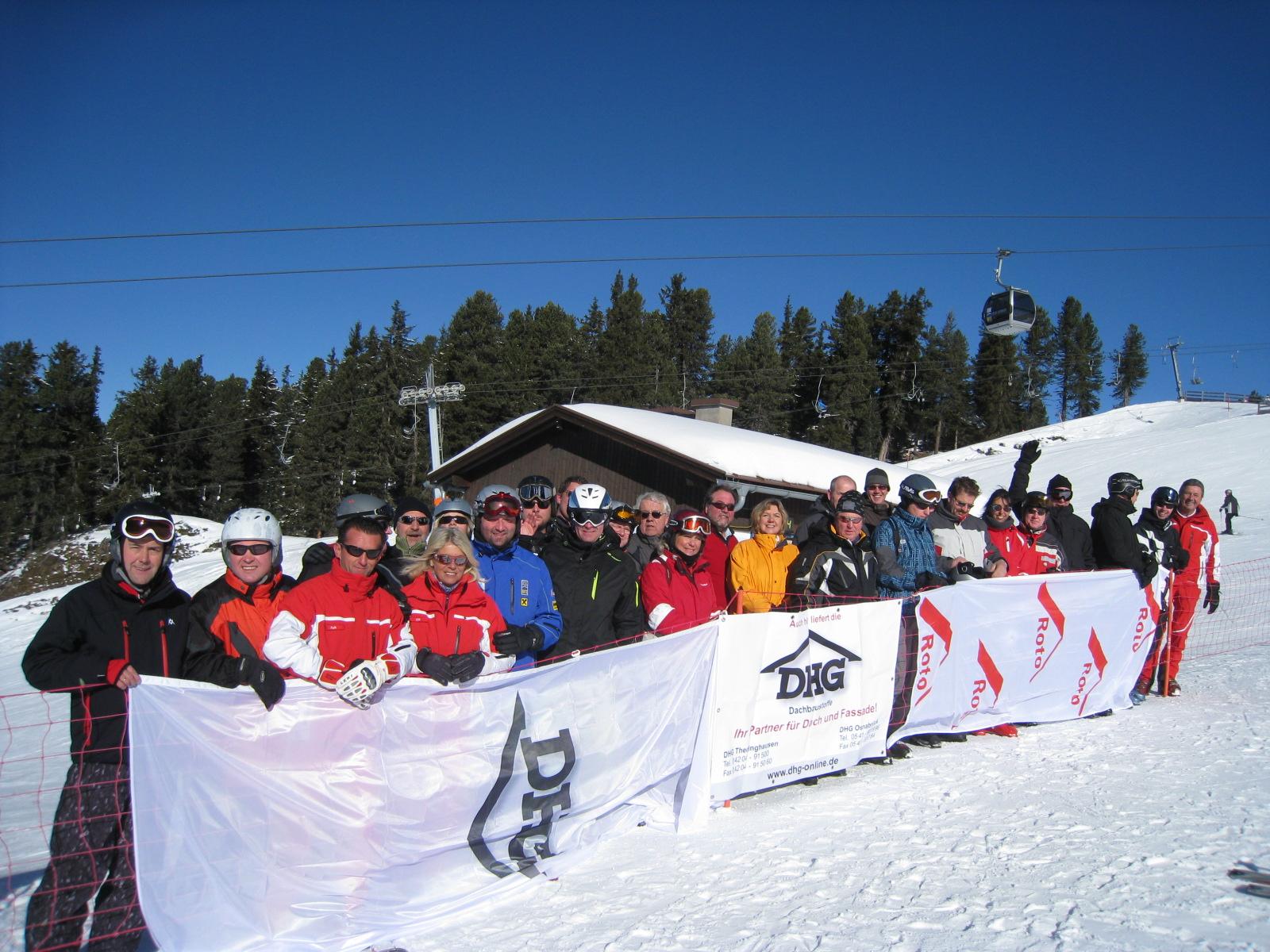 DHG-Ski-Event – Vom Dach Auf Die Piste